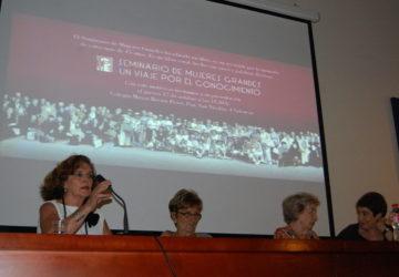 """Presentación del libro """"Seminario de mujeres grandes, un viaje por el conocimiento"""""""