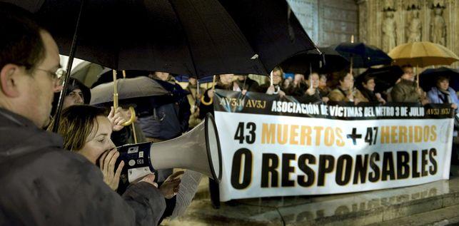 El caso del accidente de metro de 2006 en Valencia llegará a juicio