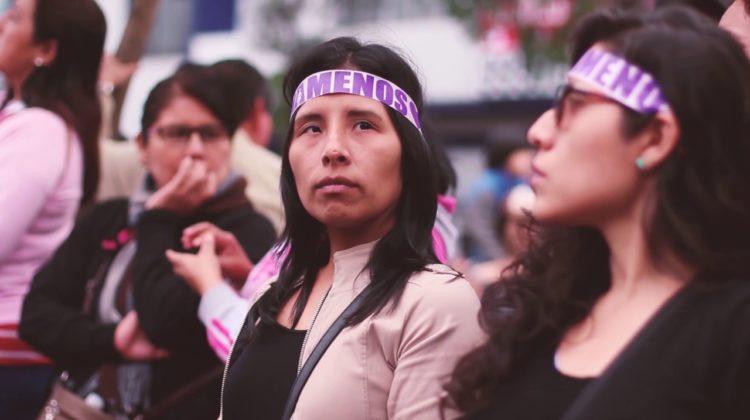 """""""Feminismo es la lucha de las mujeres para su buen vivir"""""""