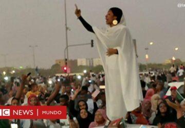 El símbolo de las protestas en Sudán es una mujer que canta a la revolución