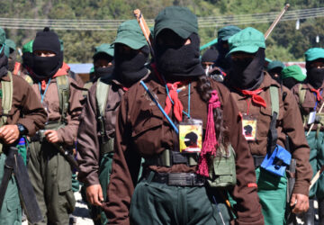 Las mujeres en lucha del mundo se encuentran en territorio zapatista